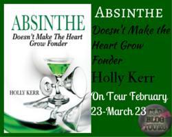 Absinthe Doesn't Make the Heart Grow button