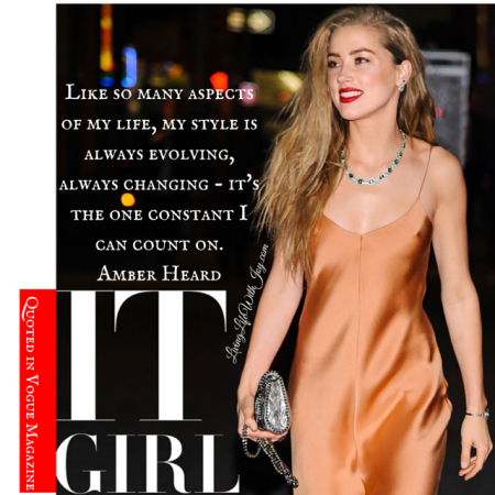 Amber Heard - Vogue