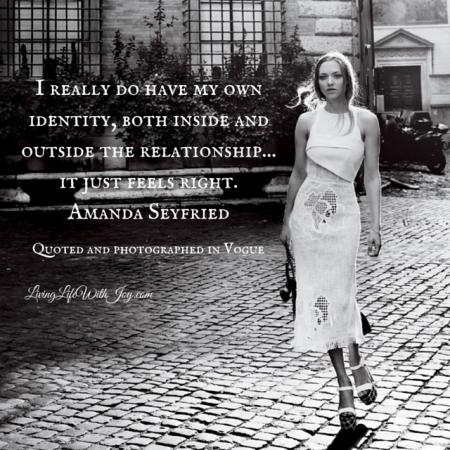Amanda Seyfried - Vogue