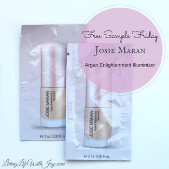 Free Sample Friday - Josie Maran
