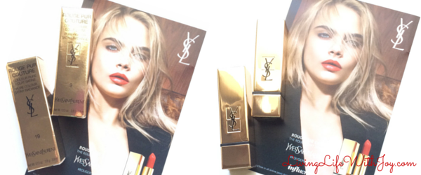 YSL Gold Packaging