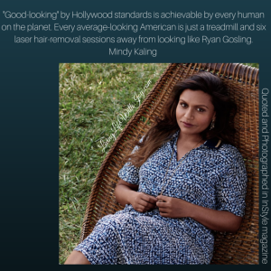 Mindy Kaling - InStyle