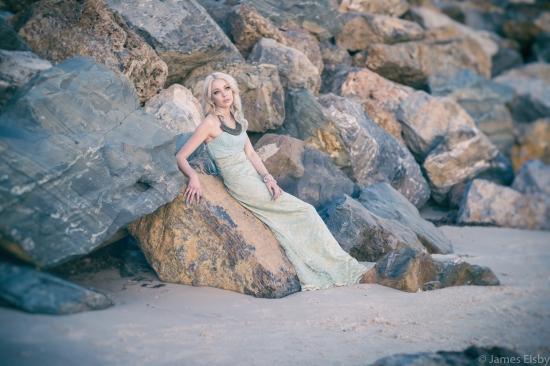 Mermadelaide model Jade Allen - pic James Elsby 4