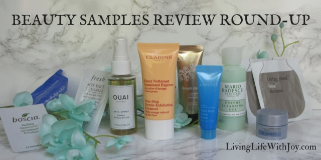 Beauty Sample Review Round-Up 8.2