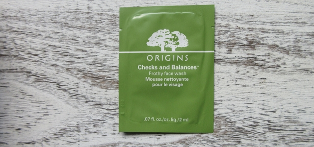 Origins Frothy face wash